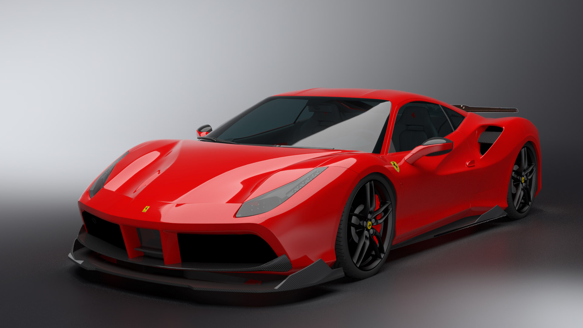 Dmc Introduces Ferrari 488 Gtb Orso