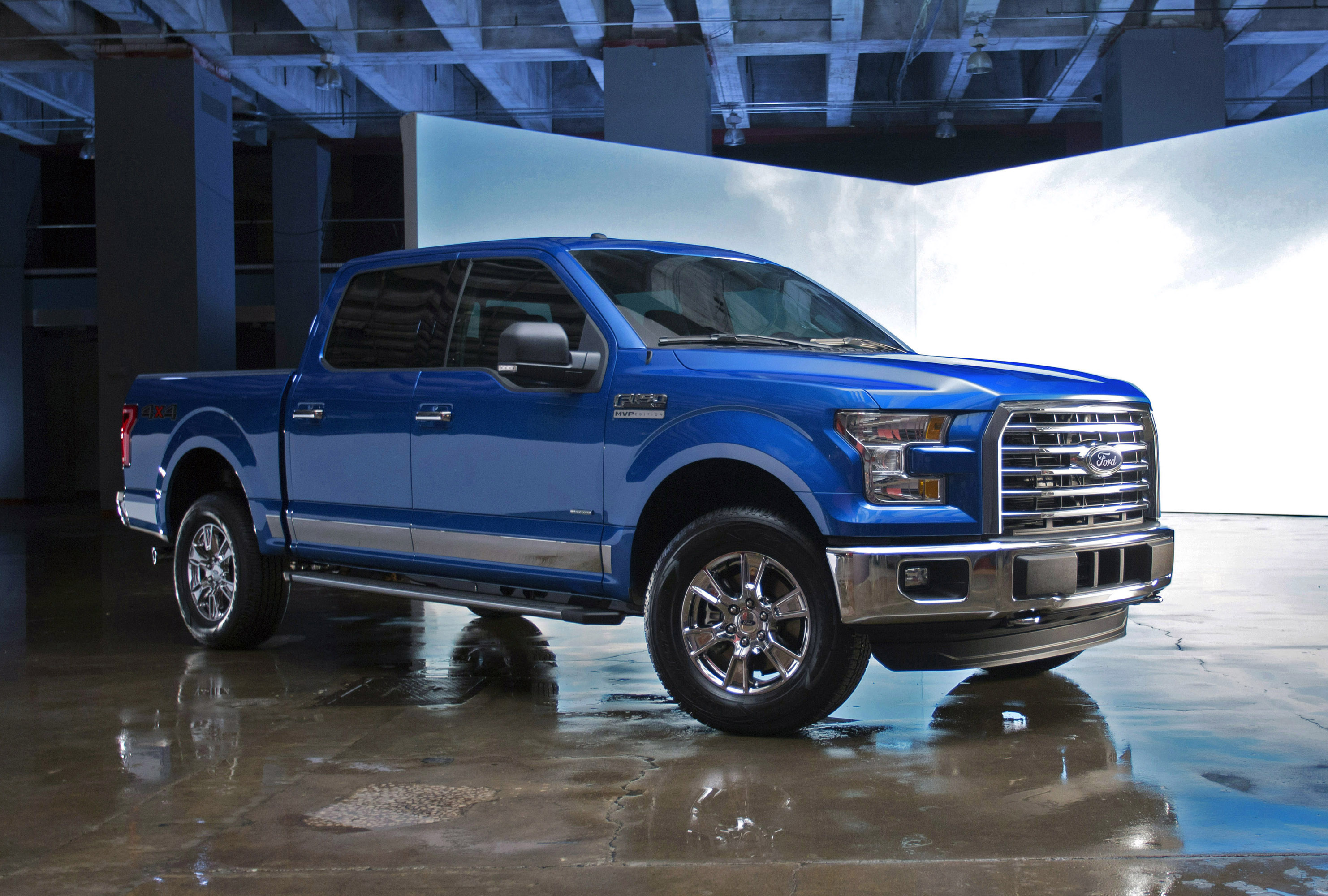 Ford Dealers In Kansas >> Ford reveals 2016 F-150 MVP Edition