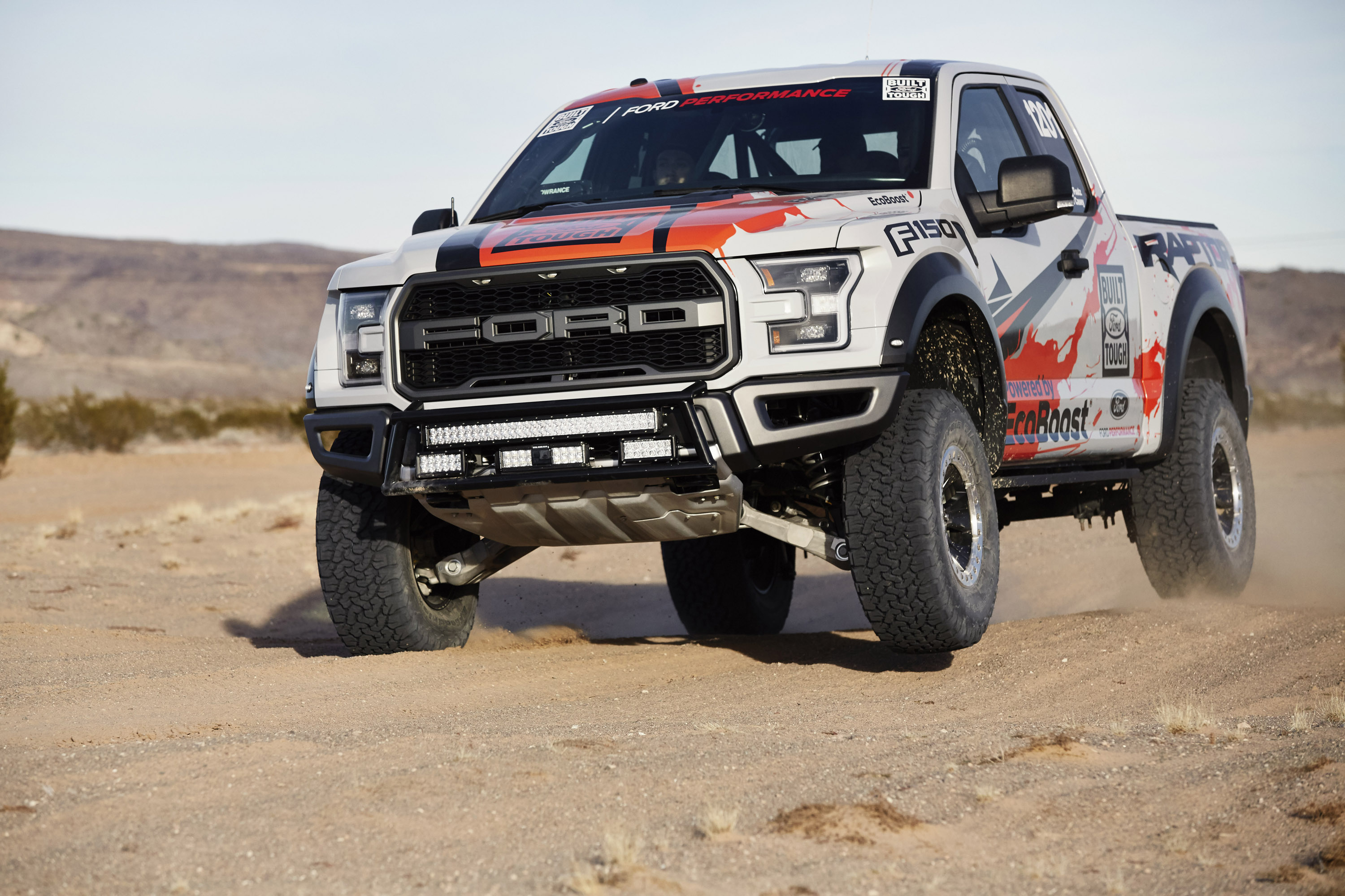 Ford F-150 Raptor is ready for the off-road challenges