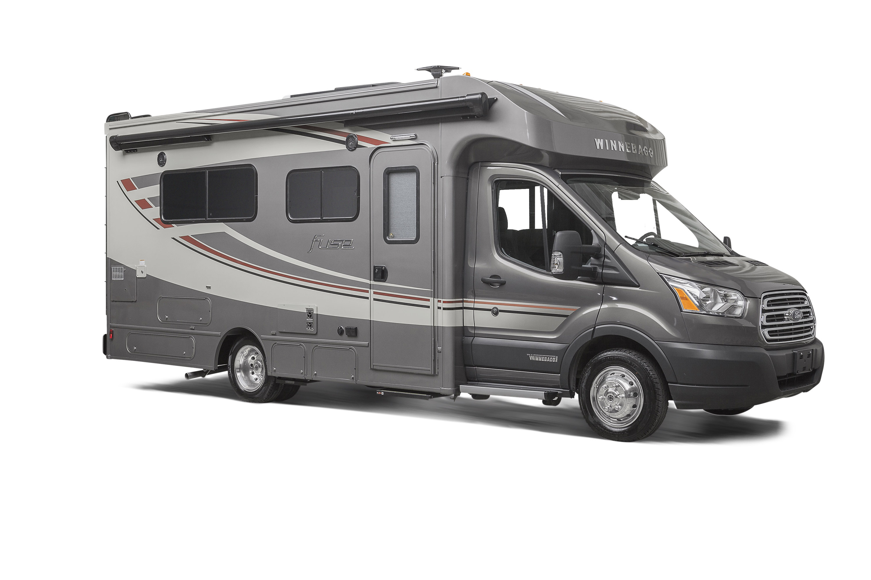 Winnebago Is Ford Transit Based Luxury Motorhome We Are