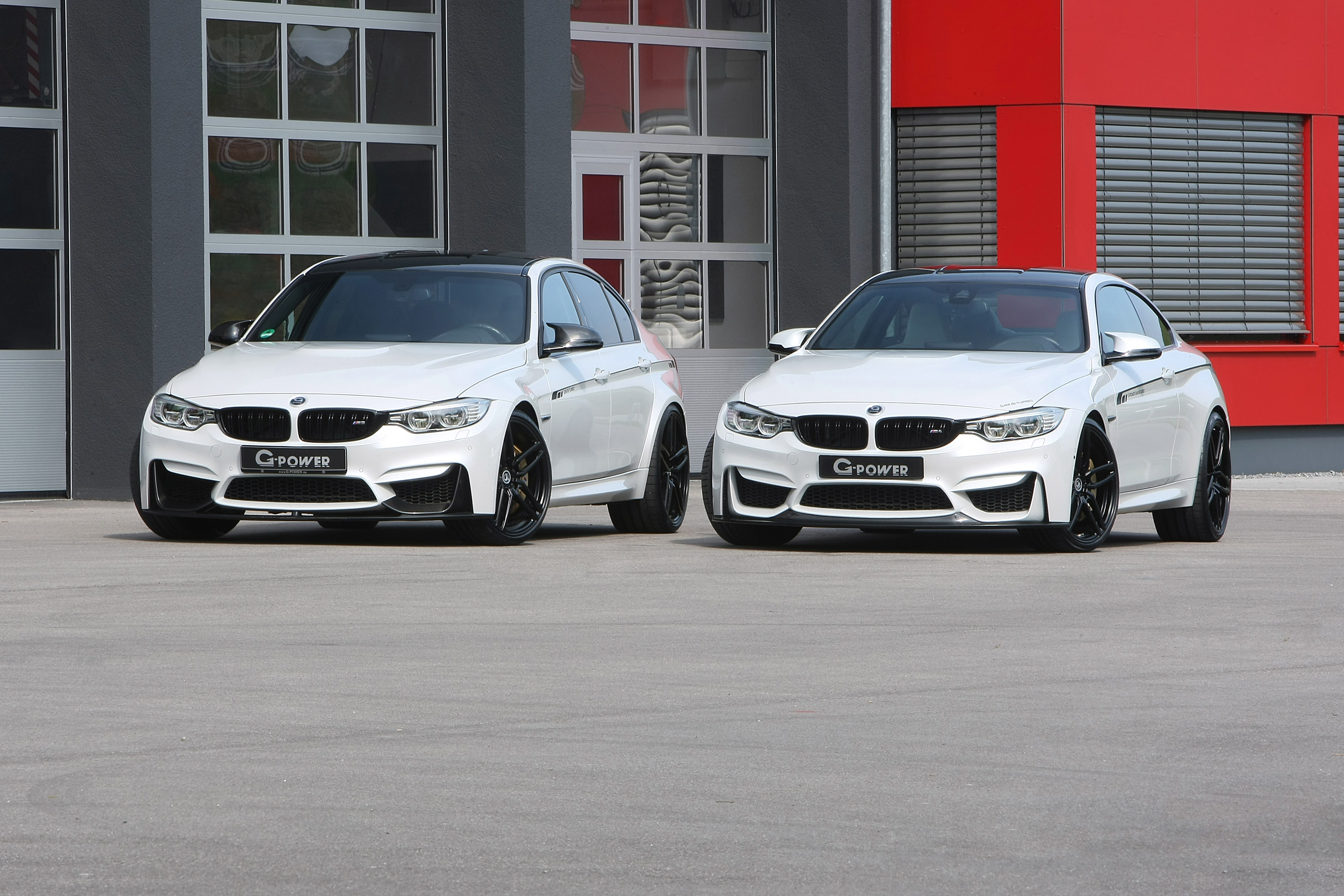 2016 G Power BMW M3 F80 And M4 F82