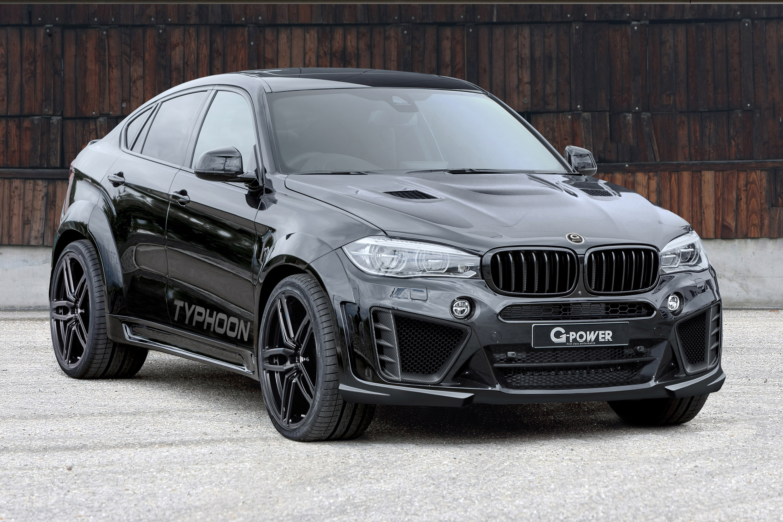 G-Power Introduces BMW X6 M Typhoon