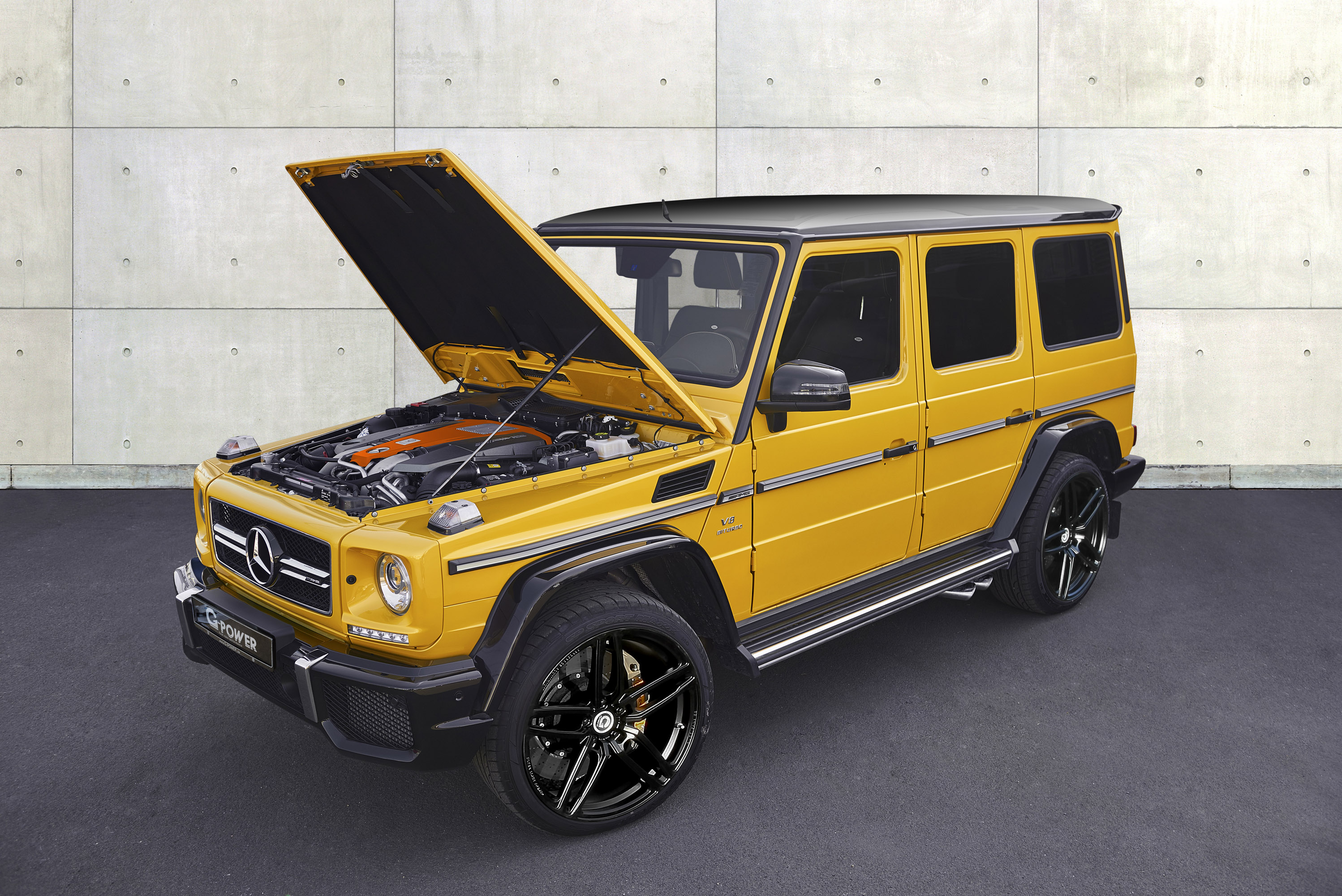 G-POWER releases tuned Mercedes-AMG G63