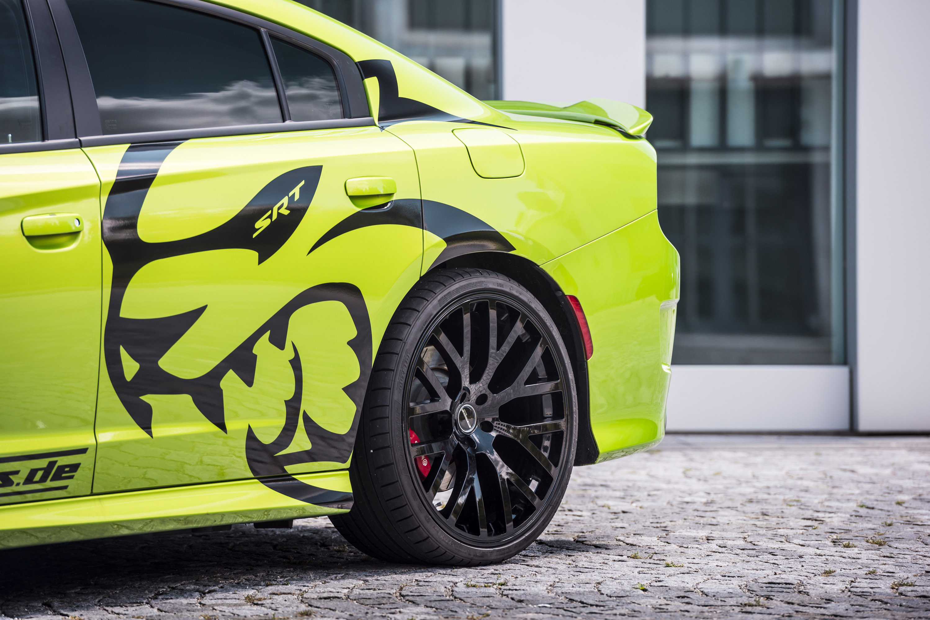 Dodge Ram 1500 Tires >> GeigerCars team reveals a mighty Dodge Hellcat upgrade project