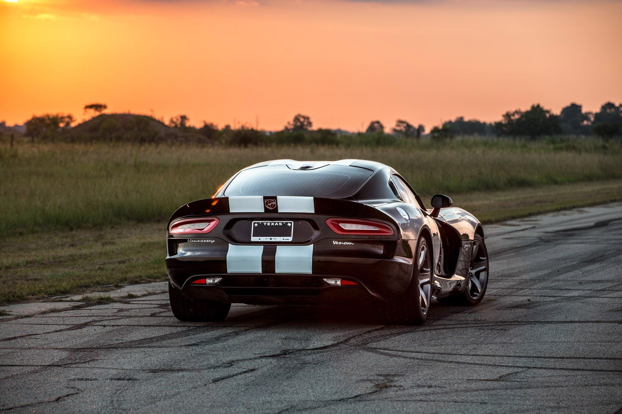 Hennessey Releases Video Of Dodge Viper Venom 800