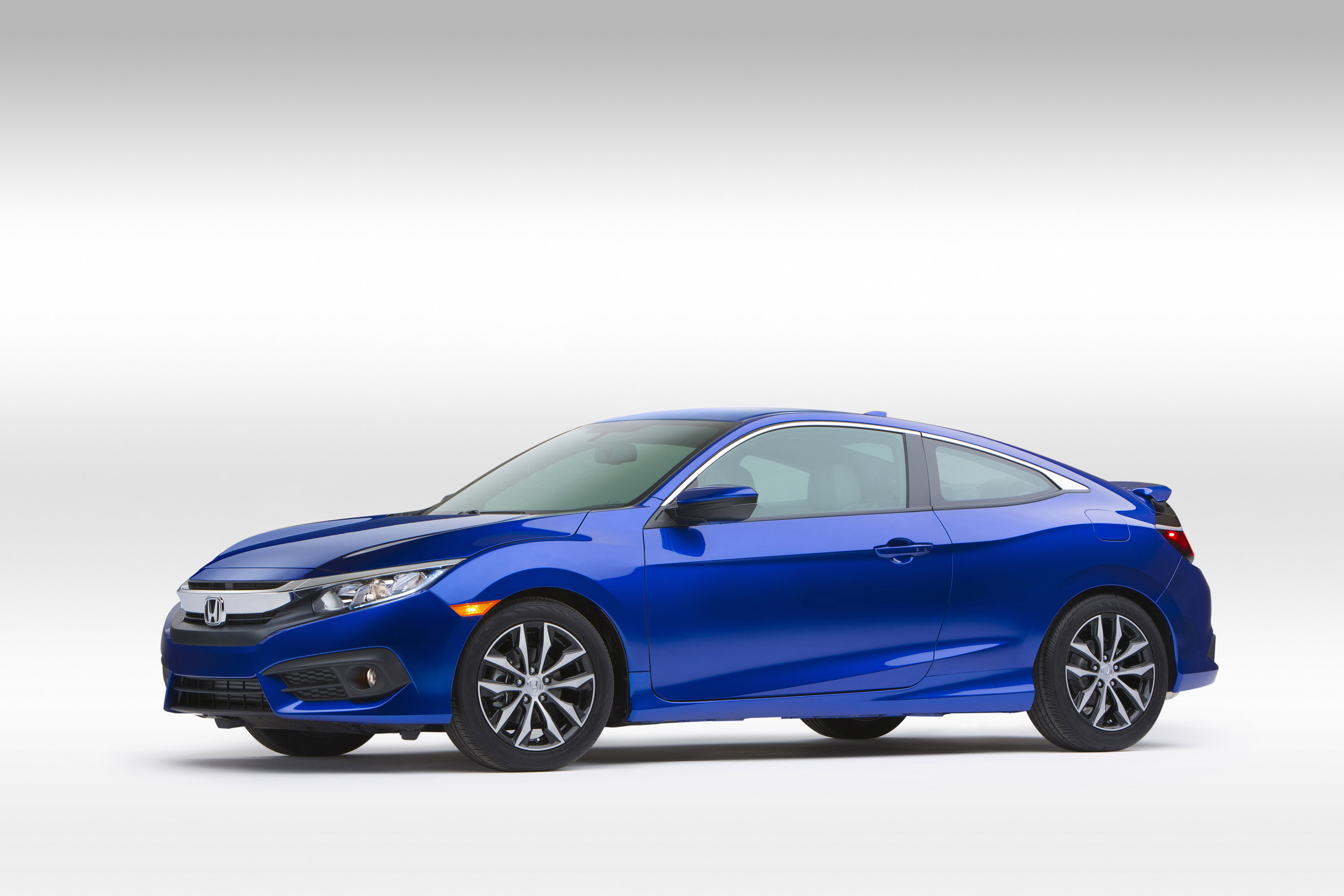 2016 honda civic coupe earns top safety pick award by iihs for Honda civic safety