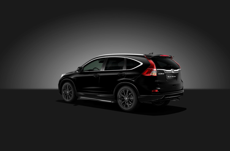 Honda unveils Civic and CR-V Black Edition Models