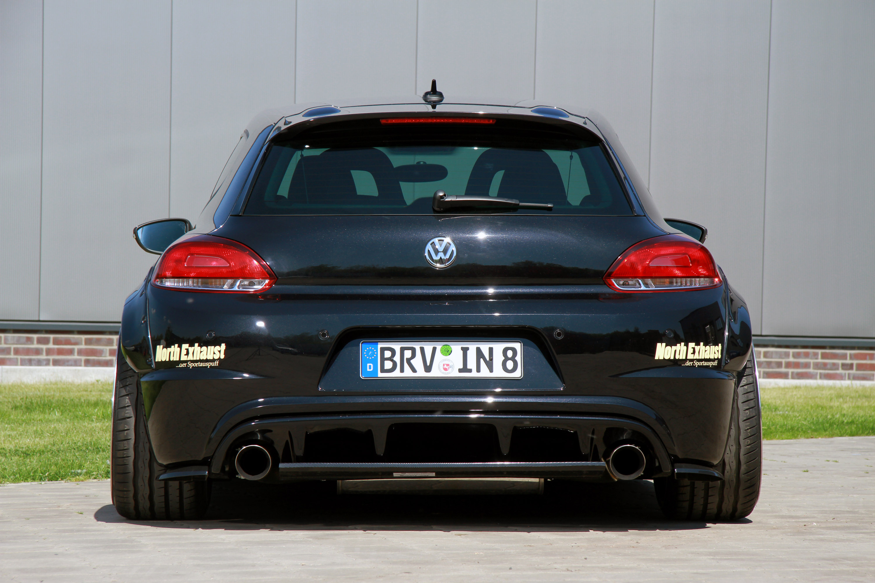 ingo noak releases wide body tunings for volkswagen scirocco and golf. Black Bedroom Furniture Sets. Home Design Ideas