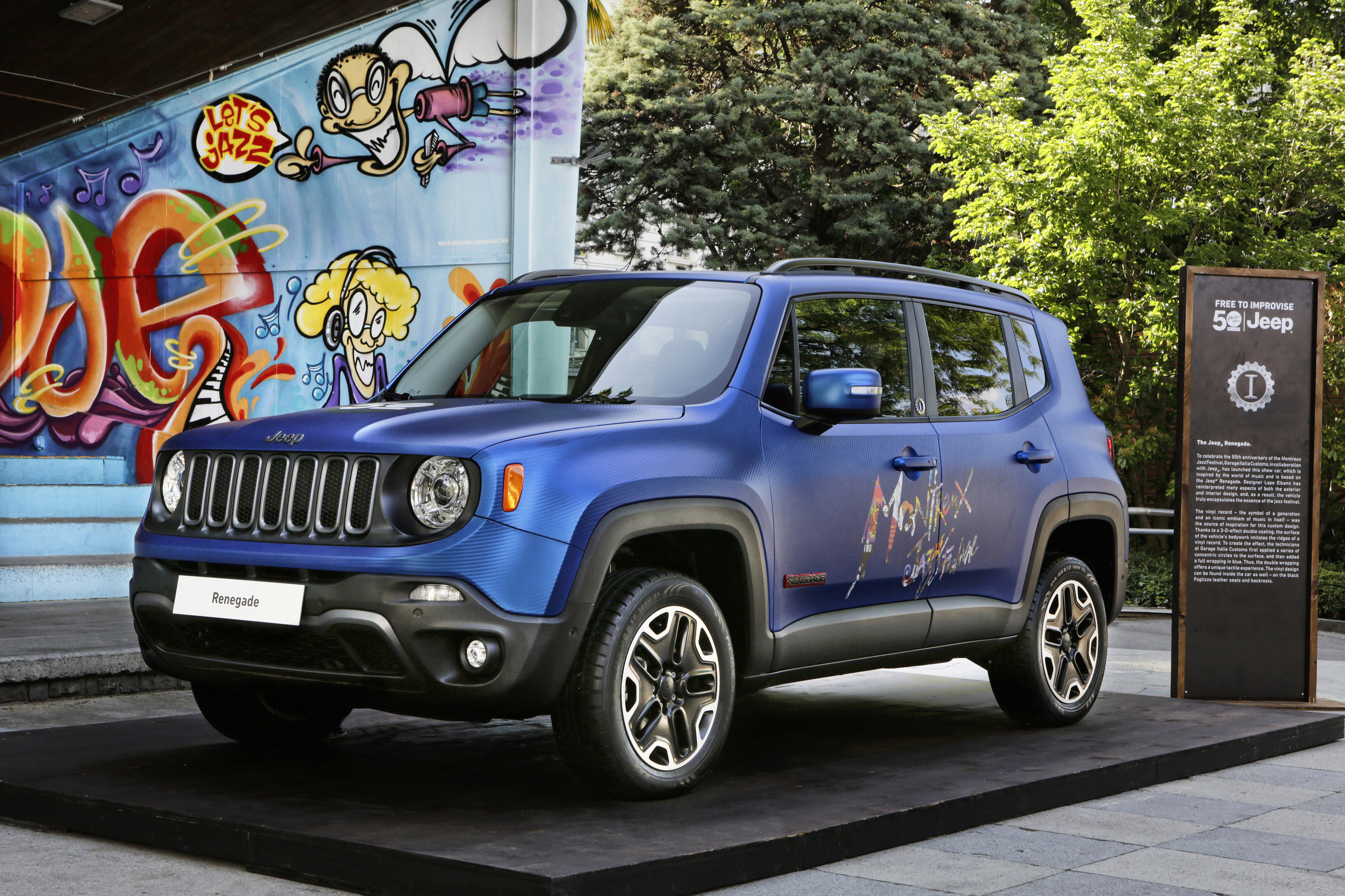Jeep Renegade Limited >> Jeep reveals Montreux Jazz Festival Edition vehicles