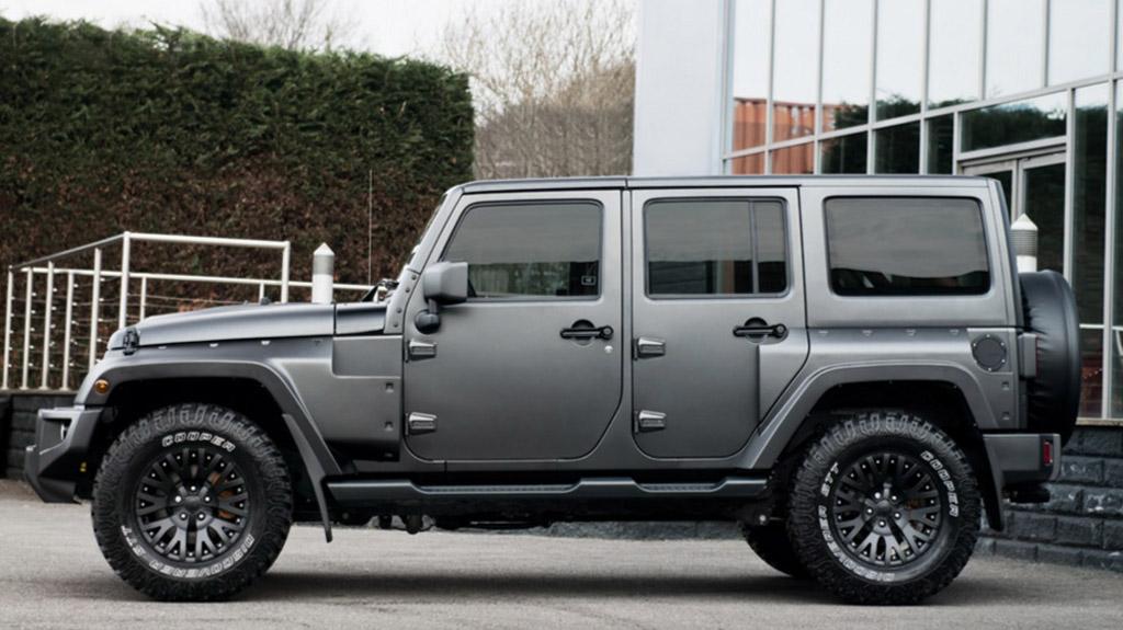 kahn releases jeep wrangler sahara cj300 black hawk edition. Black Bedroom Furniture Sets. Home Design Ideas