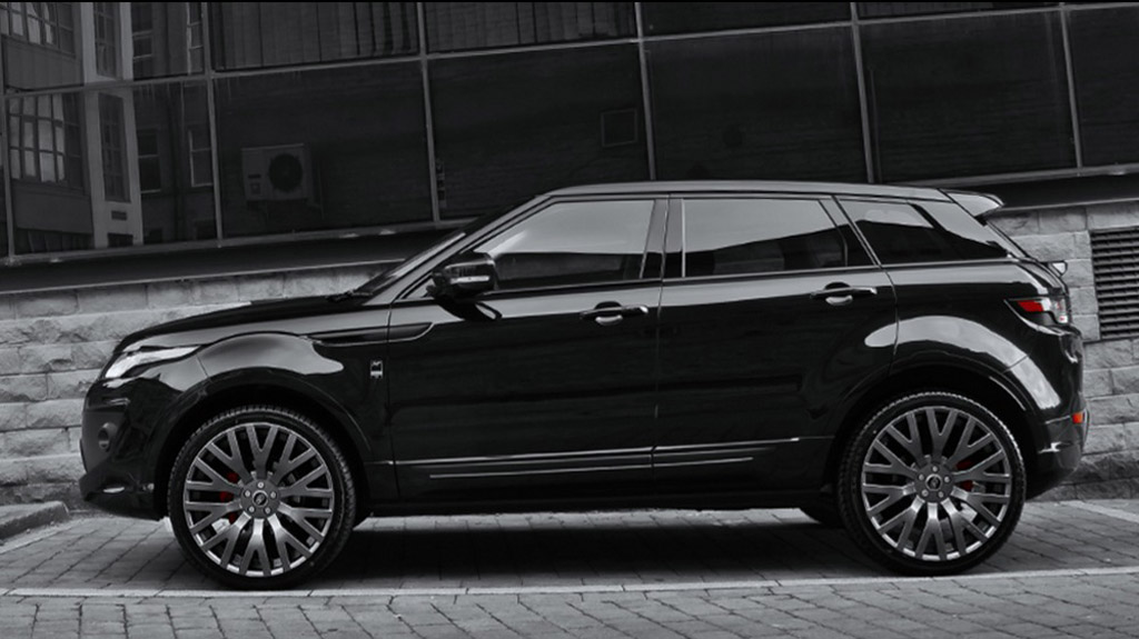 kahn releases range rover evoque dynamic luxury edition. Black Bedroom Furniture Sets. Home Design Ideas