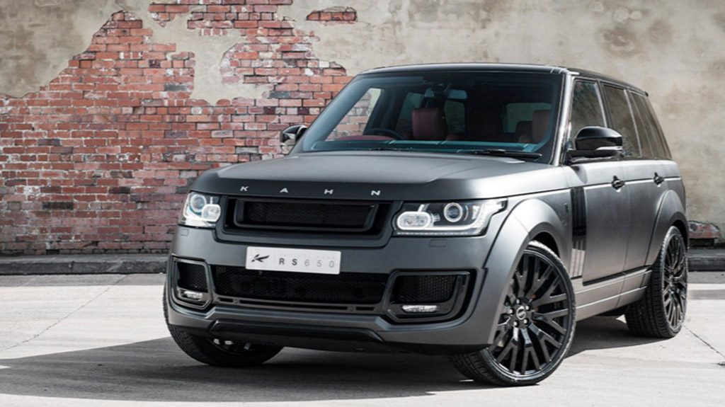 kahn releases range rover 5 0 v8 supercharged. Black Bedroom Furniture Sets. Home Design Ideas