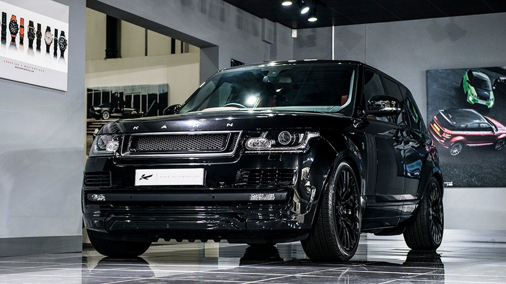kahn range rover vogue rs edition released. Black Bedroom Furniture Sets. Home Design Ideas