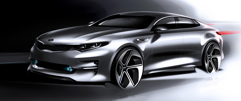 2016 Kia Optima Midsizesedan Design Renderings