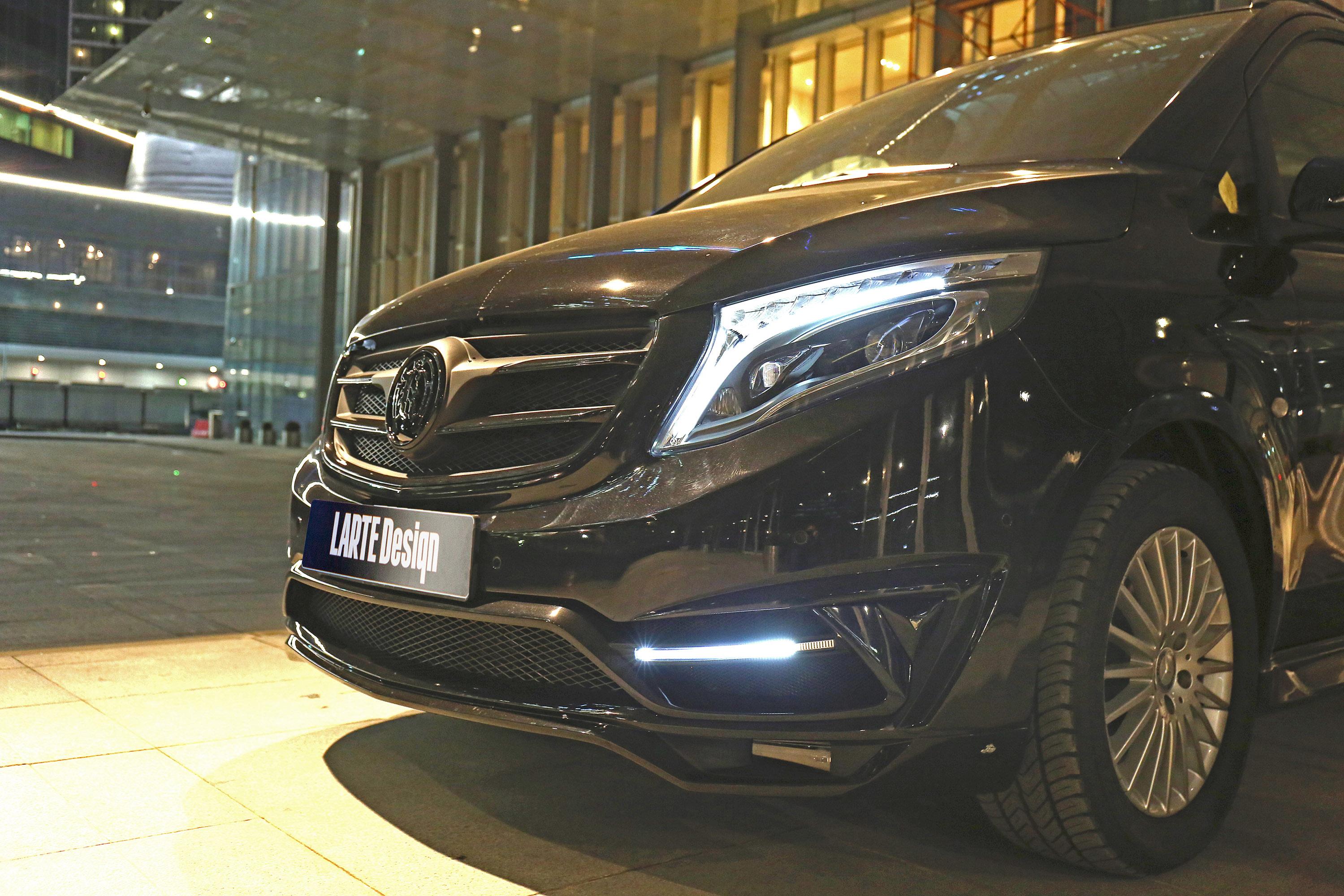 ... 2016 Larte Design Mercedes Benz V Class Black Crystal , 15 Of 21 ...