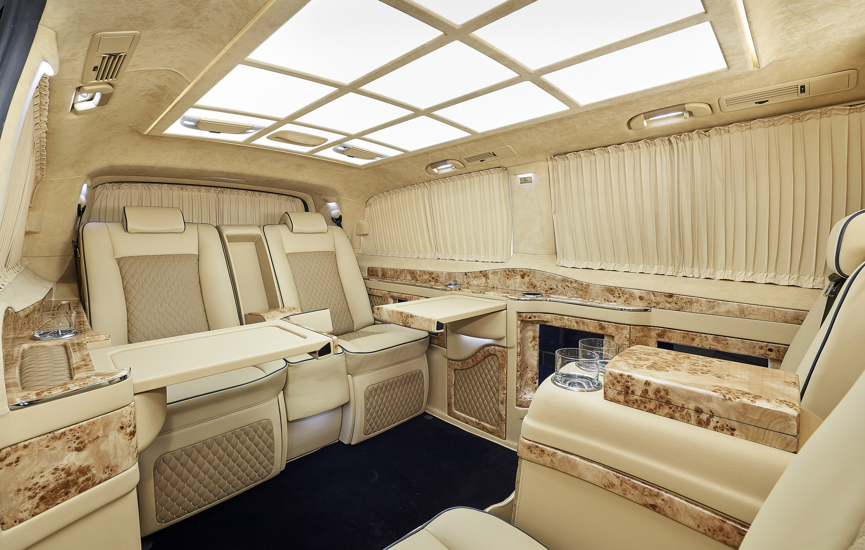 Larte Design Reveals The Exterior Of Mercedes Benz V Class