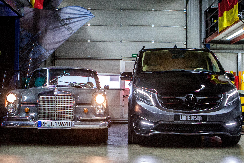 Perfect ... 2016 LARTE Design Mercedes Benz V Class Black Crystal, ...