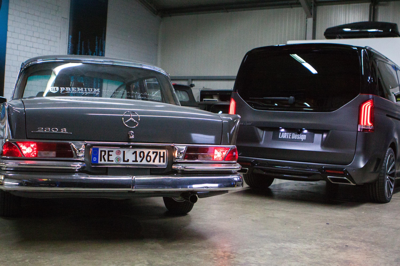 ... 2016 LARTE Design Mercedes Benz V Class Black Crystal, ...