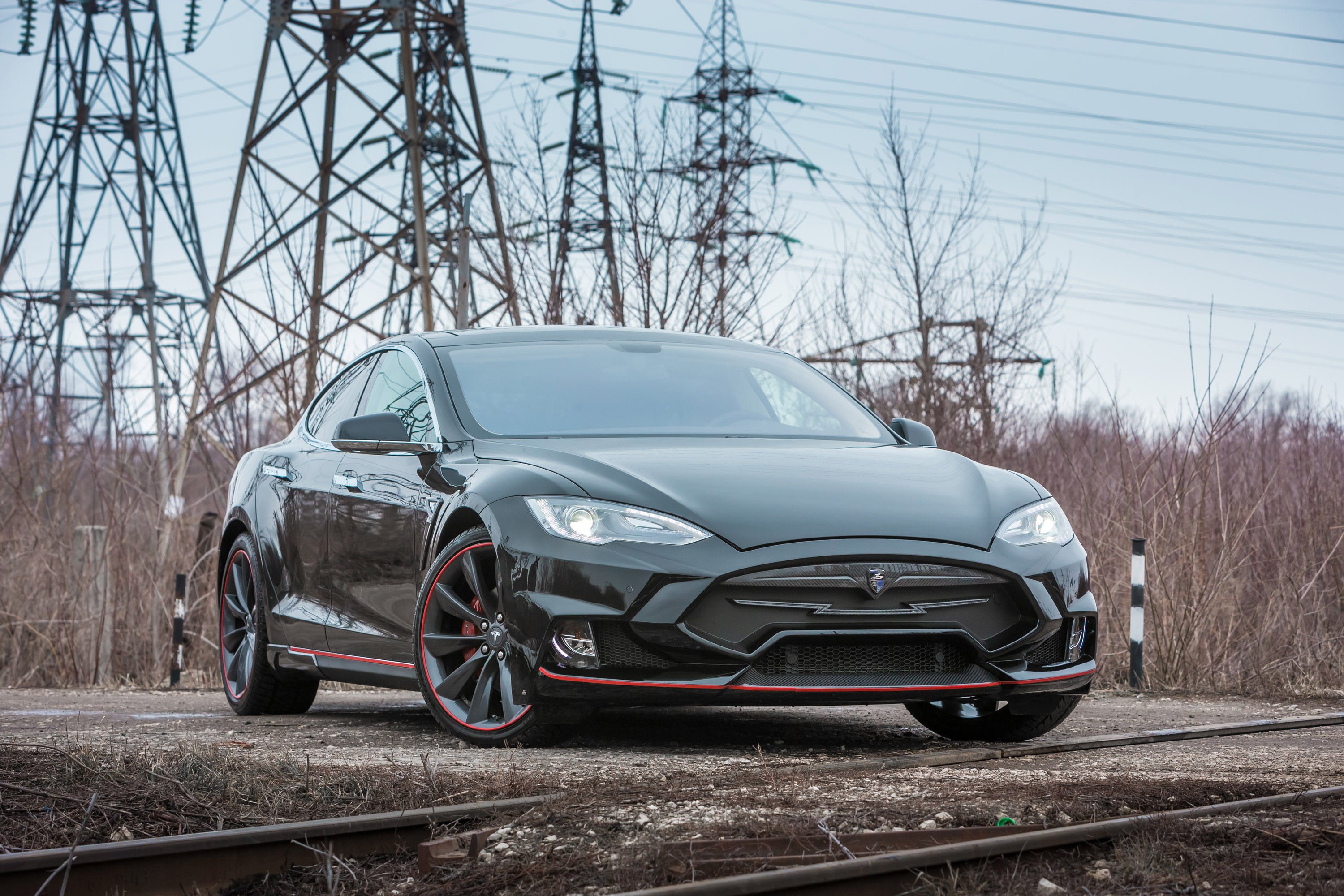 larte design tesla model s elizabeta revealed