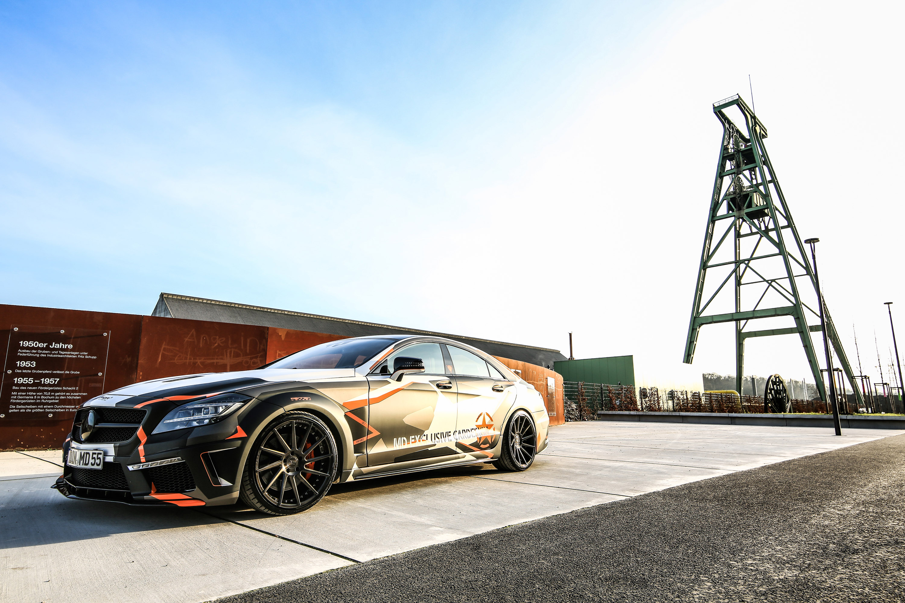 M d releases mercedes benz cls 500 black edition stealth for Mercedes benz md