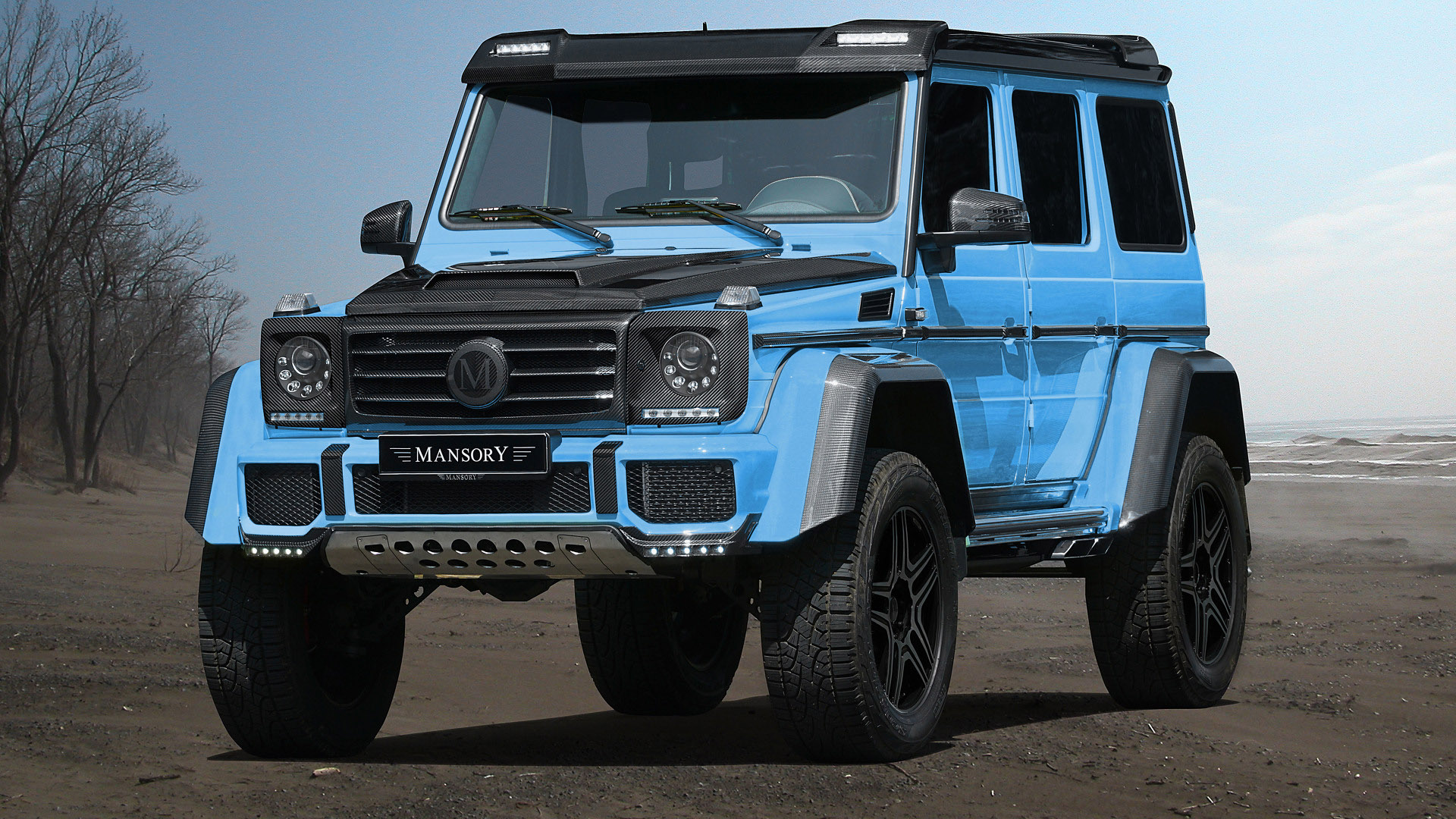 mansory introduces one off mercedes benz g500 4x4. Black Bedroom Furniture Sets. Home Design Ideas