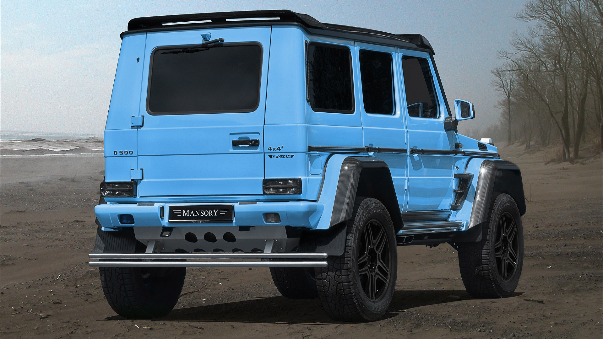 Mansory introduces one off mercedes benz g500 4x4 for Mercedes benz g500 review