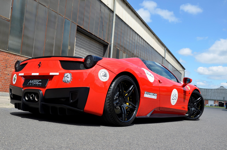 Mec Design Tweaks A Ferrari 488 Spider