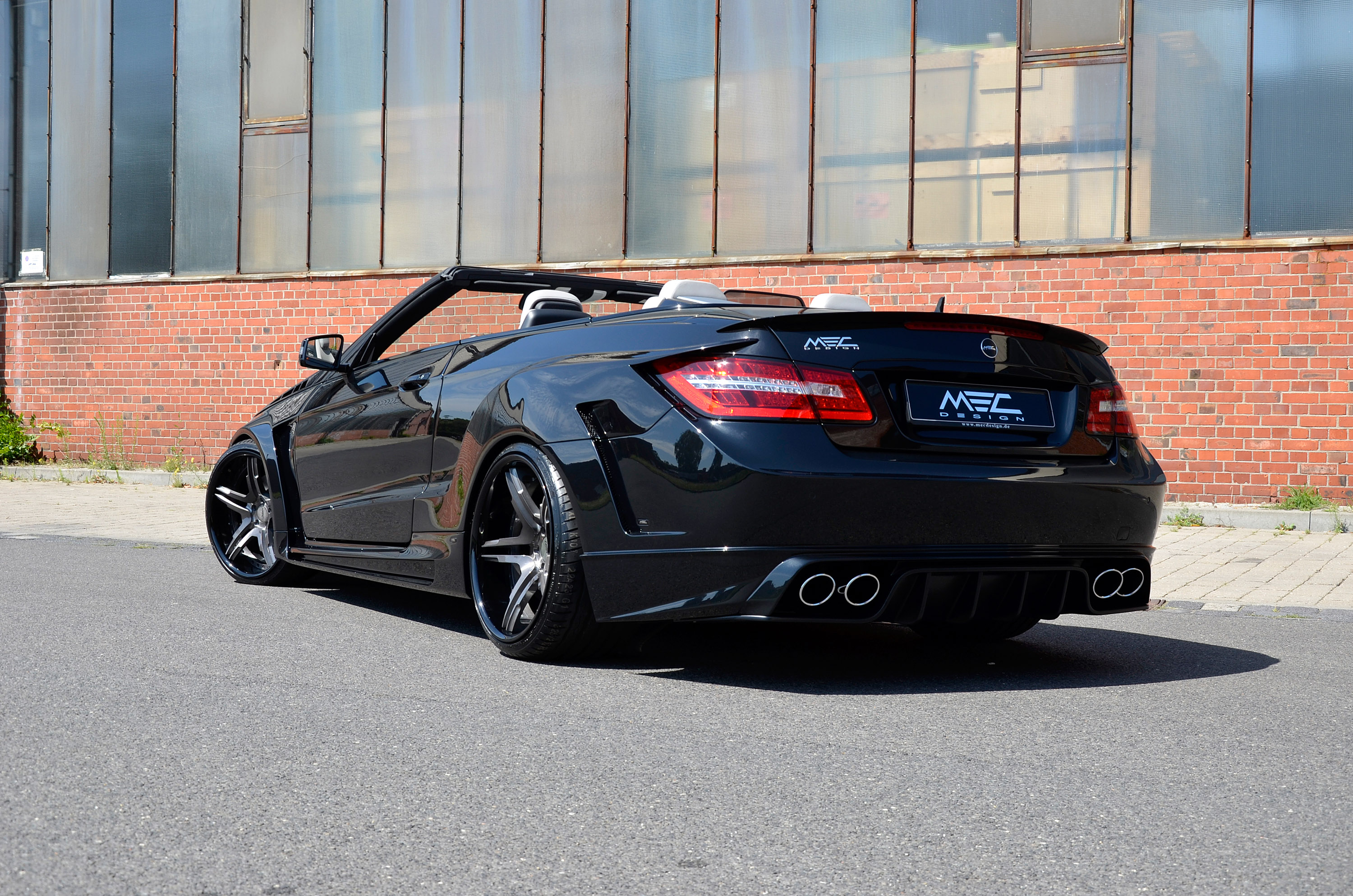 Mercedes benz e class cabriolet by mec design is back for Mercedes benz of seattle