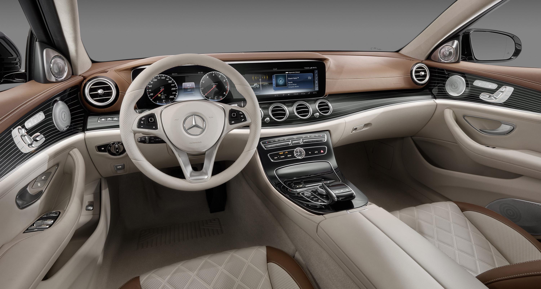 Meet the new interior of mercedes benz e class for Mercedes benz interior parts online