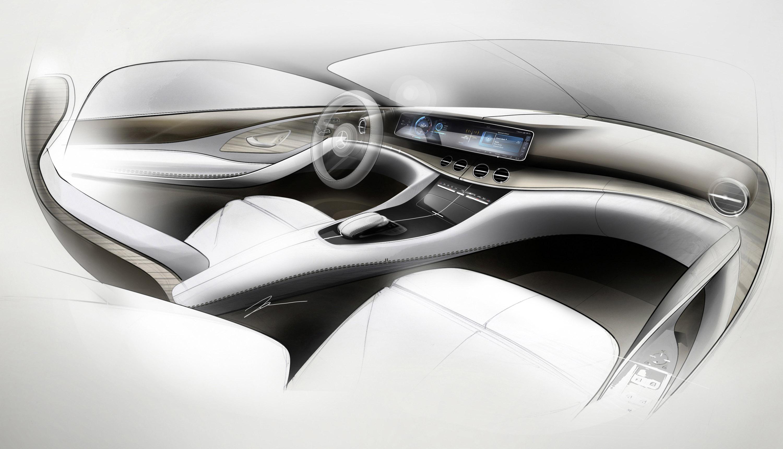 Meet the new interior of mercedes benz e class for Innenraum design