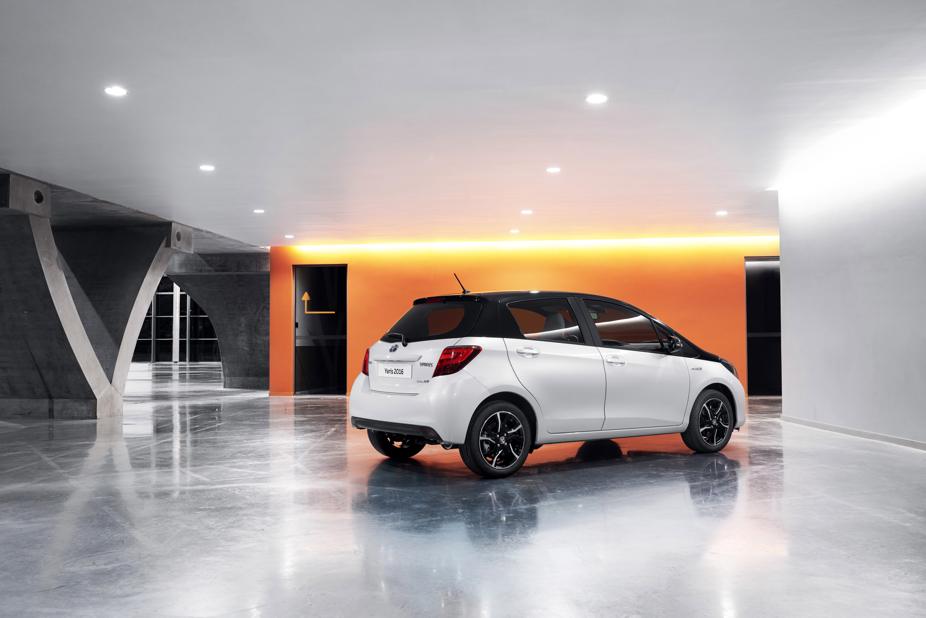Toyota Gears 2016 Yaris With New Design Pack
