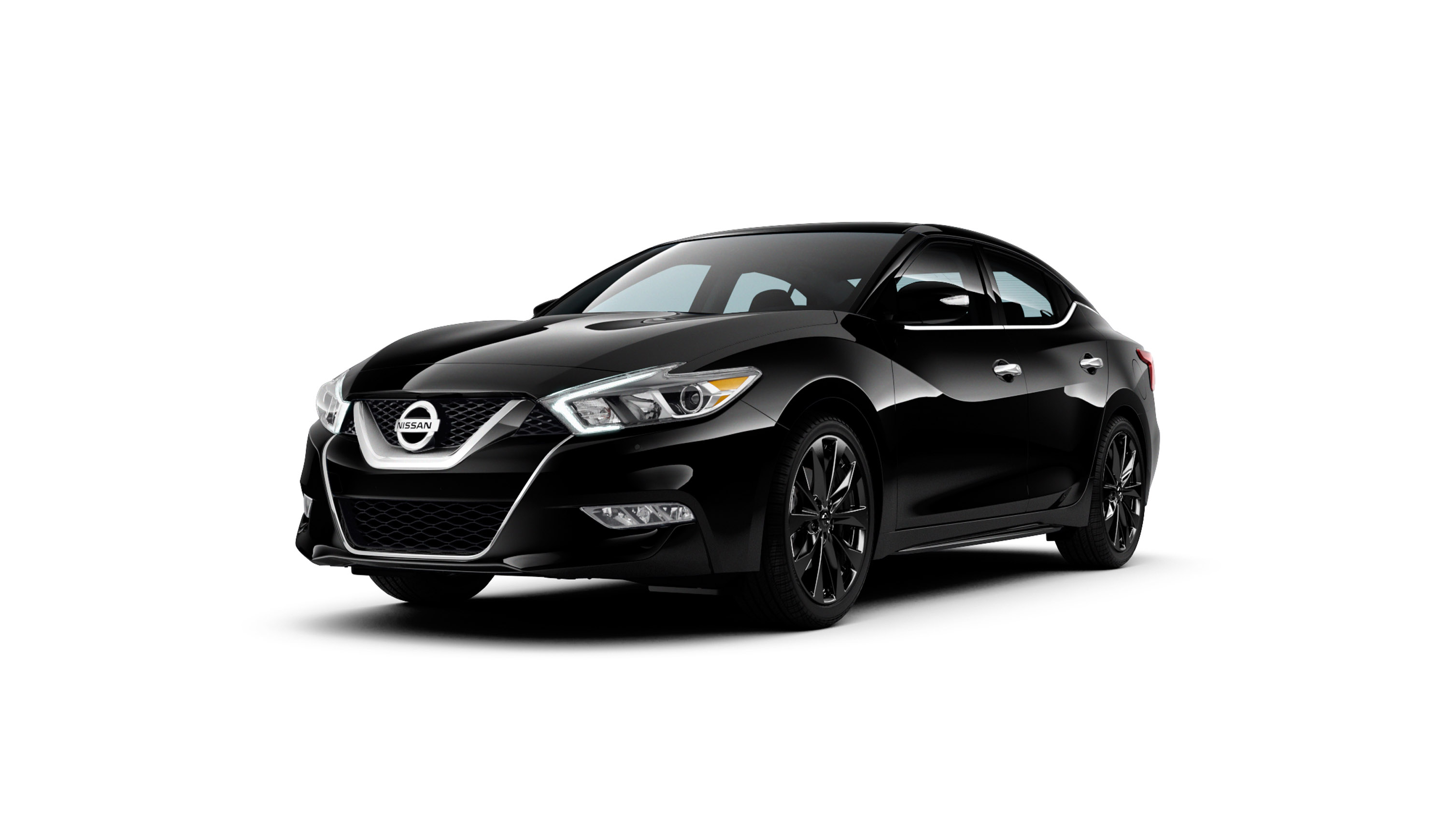 nissan releases midnight edition package for 2016 maxima. Black Bedroom Furniture Sets. Home Design Ideas