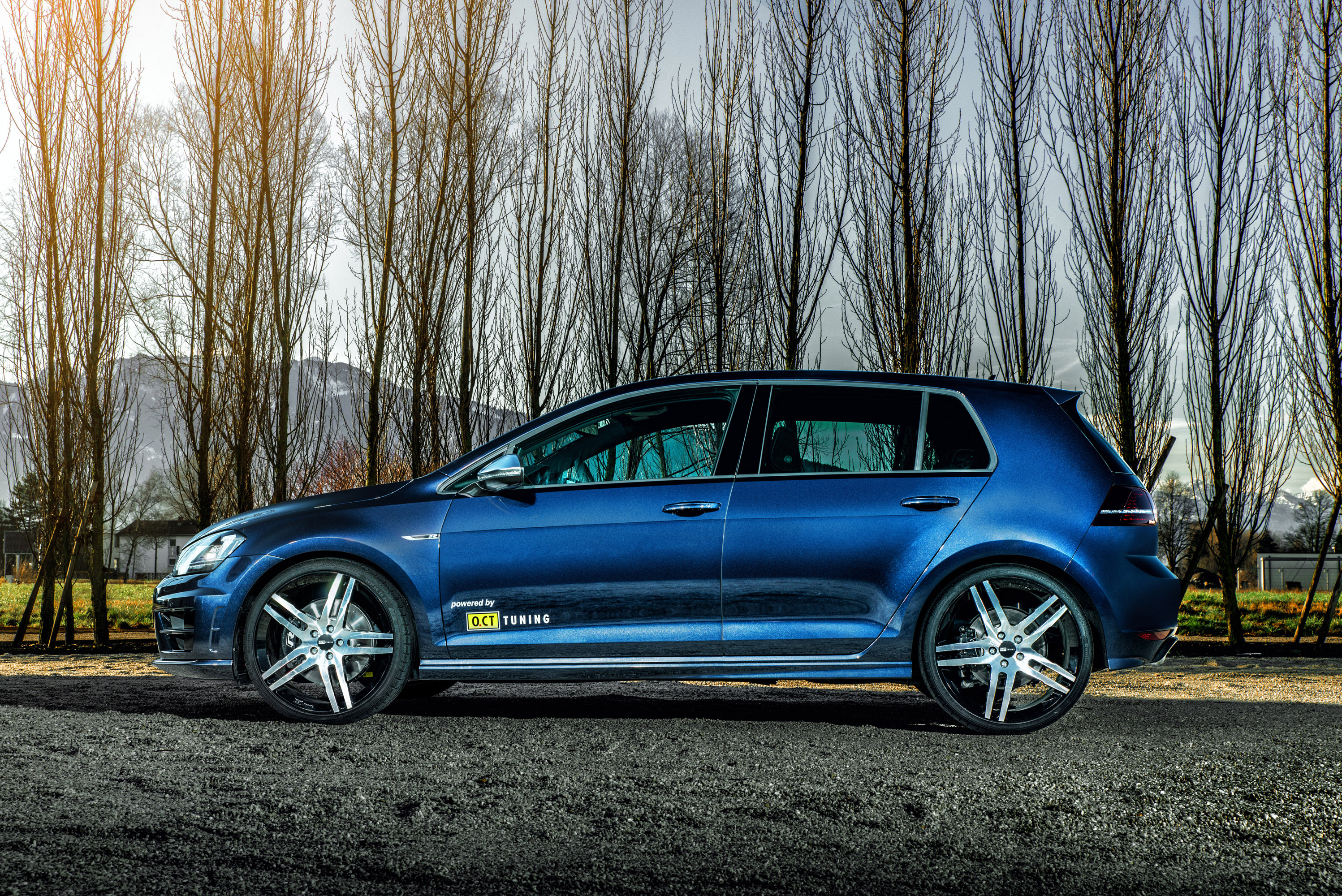 o ct tuning volkswagen golf vii r making it to 450hp and 550nm. Black Bedroom Furniture Sets. Home Design Ideas