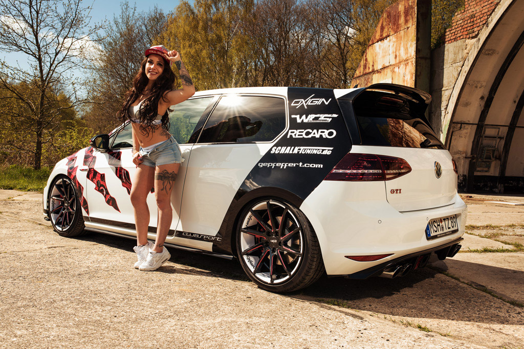 oxigin shows unique volkswagen golf 7 gti clubsport project. Black Bedroom Furniture Sets. Home Design Ideas