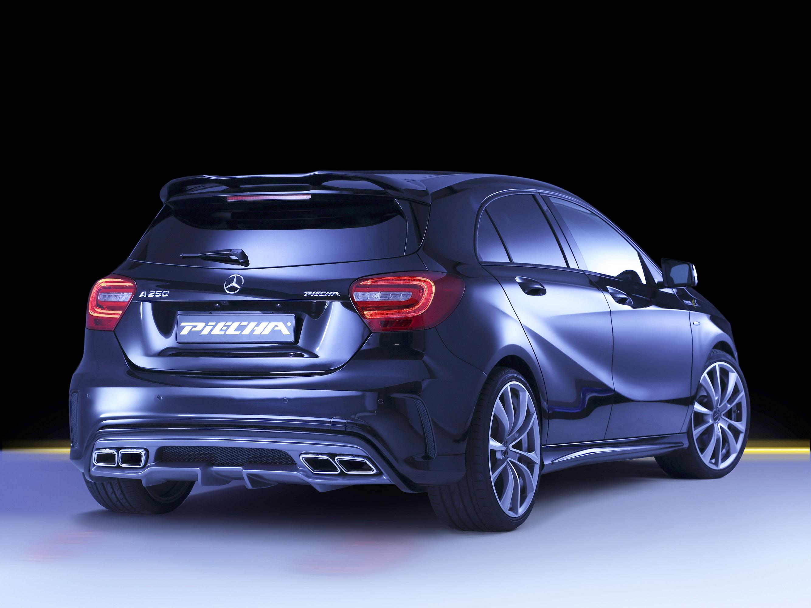 Piecha Design Transforms The Mercedes Benz A Class