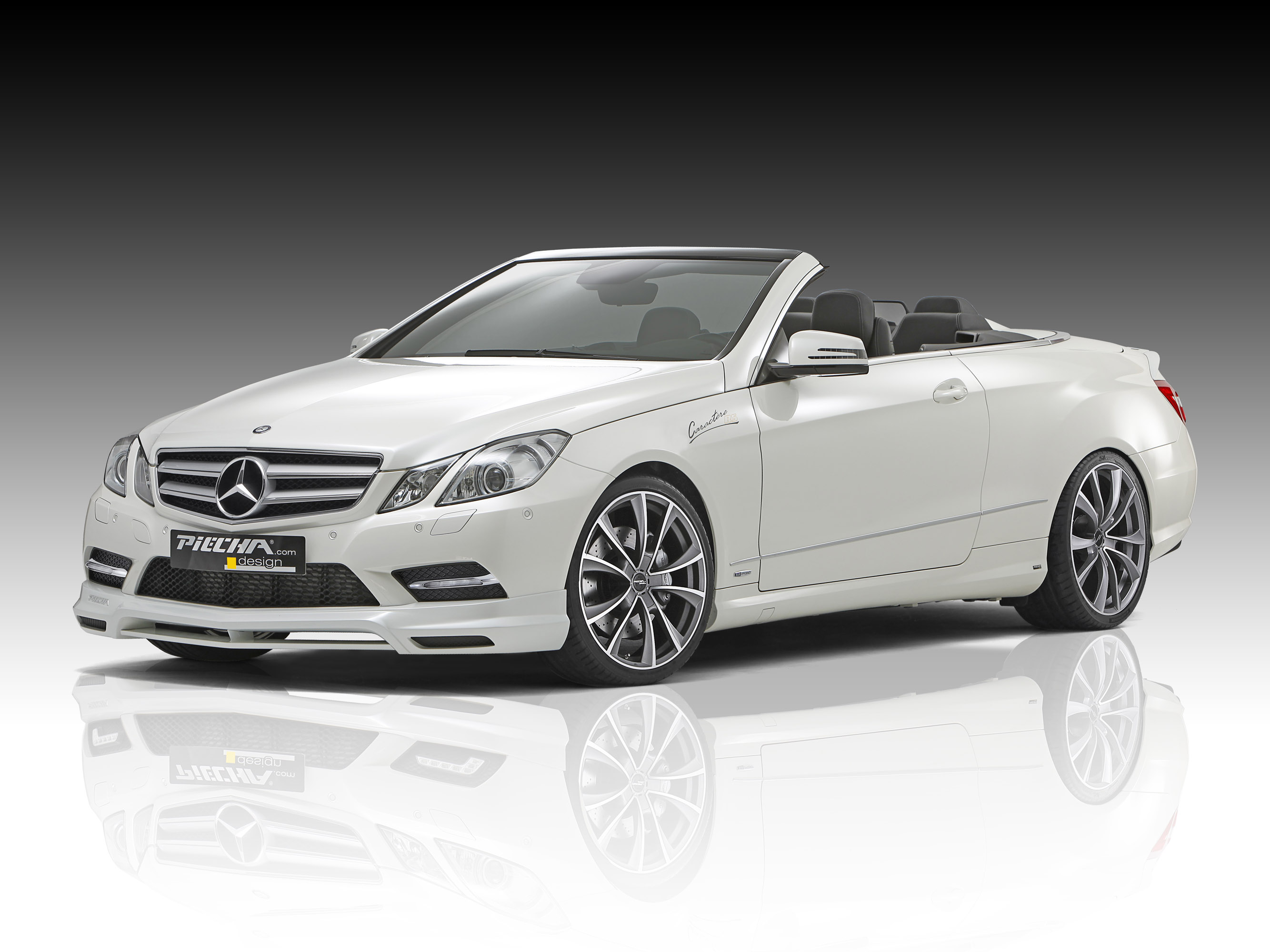 Piecha design releases tuning kit for mercedes benz e for Mercedes benz e350 cabriolet