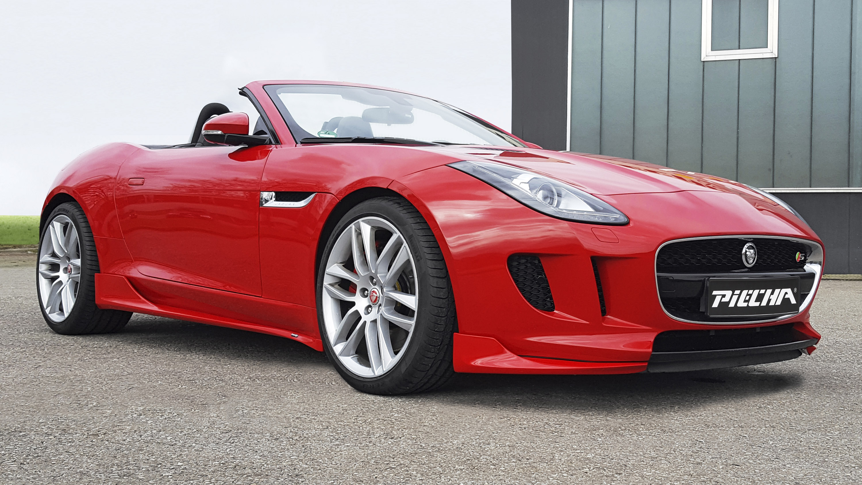 piecha introduces revisions for jaguar f type cabrio. Black Bedroom Furniture Sets. Home Design Ideas