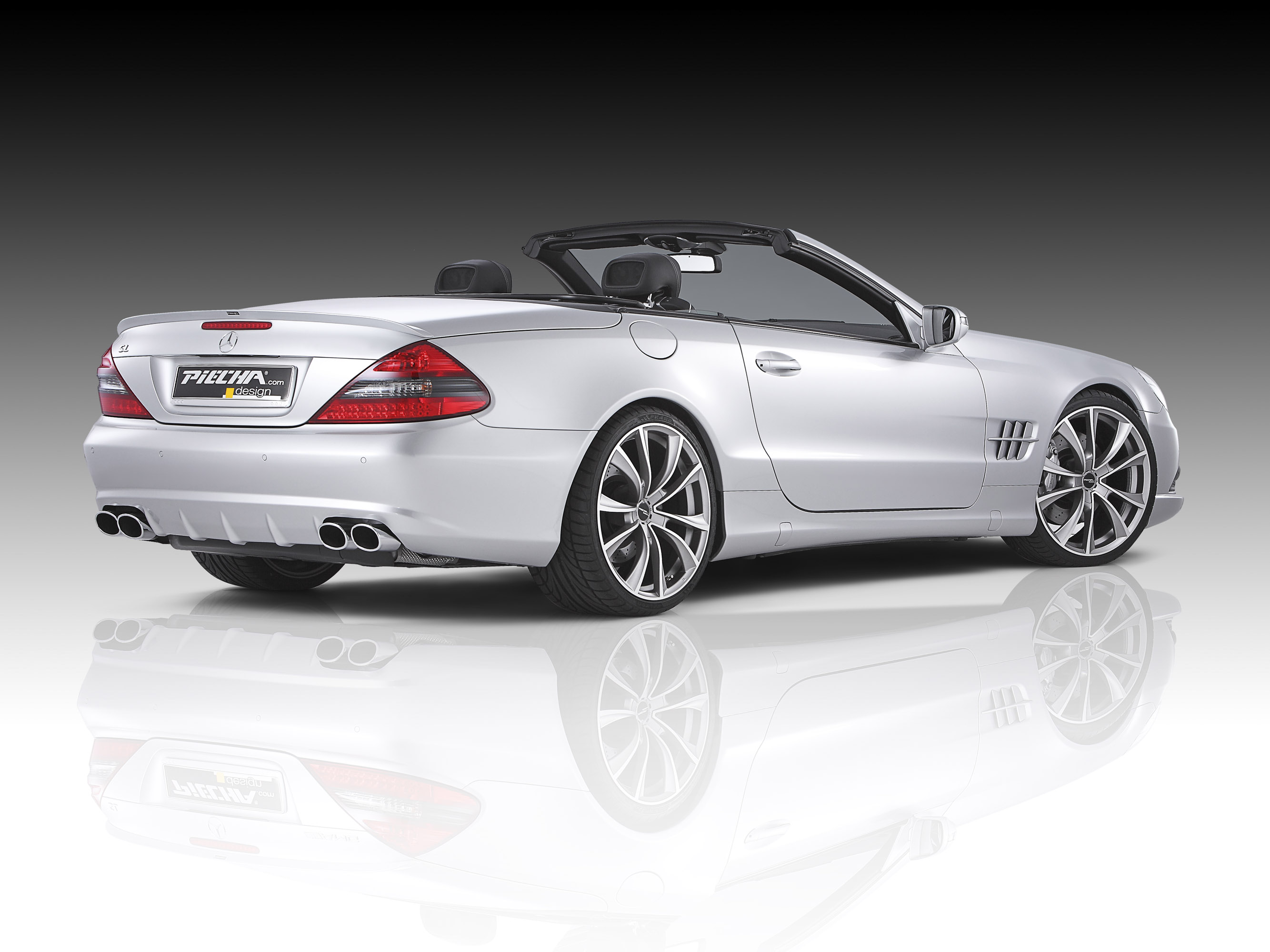 Piecha releases one off Mercedes Benz SL R230 Roadster