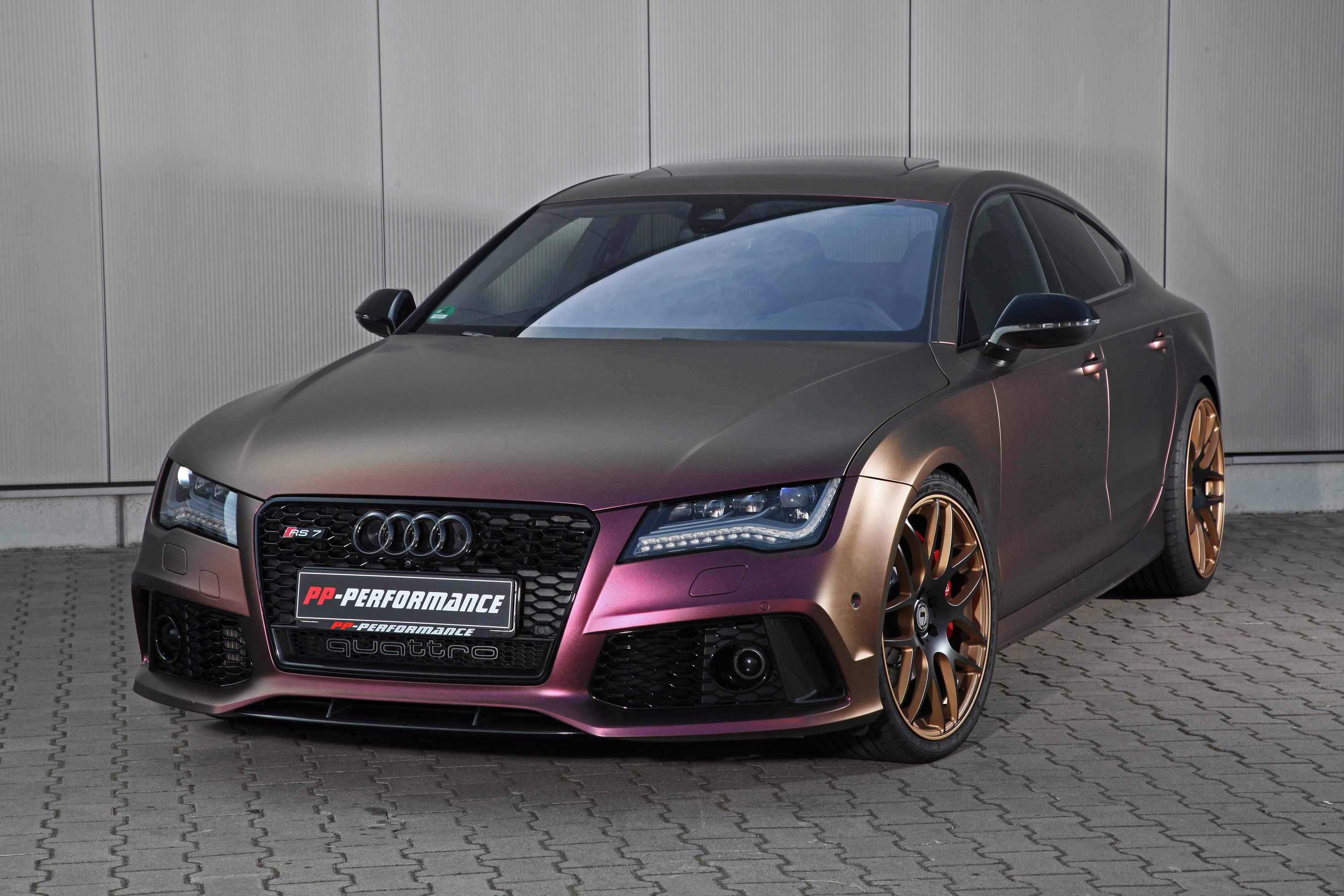 pp performance reveals a special and redesigned audi rs7. Black Bedroom Furniture Sets. Home Design Ideas