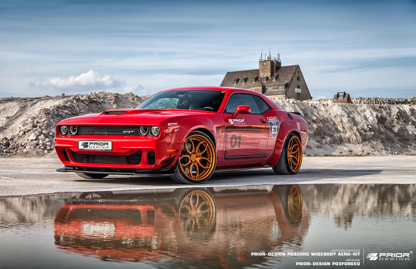 Dodge Aero >> Prior-Design releases Dodge Challenger Hellcat