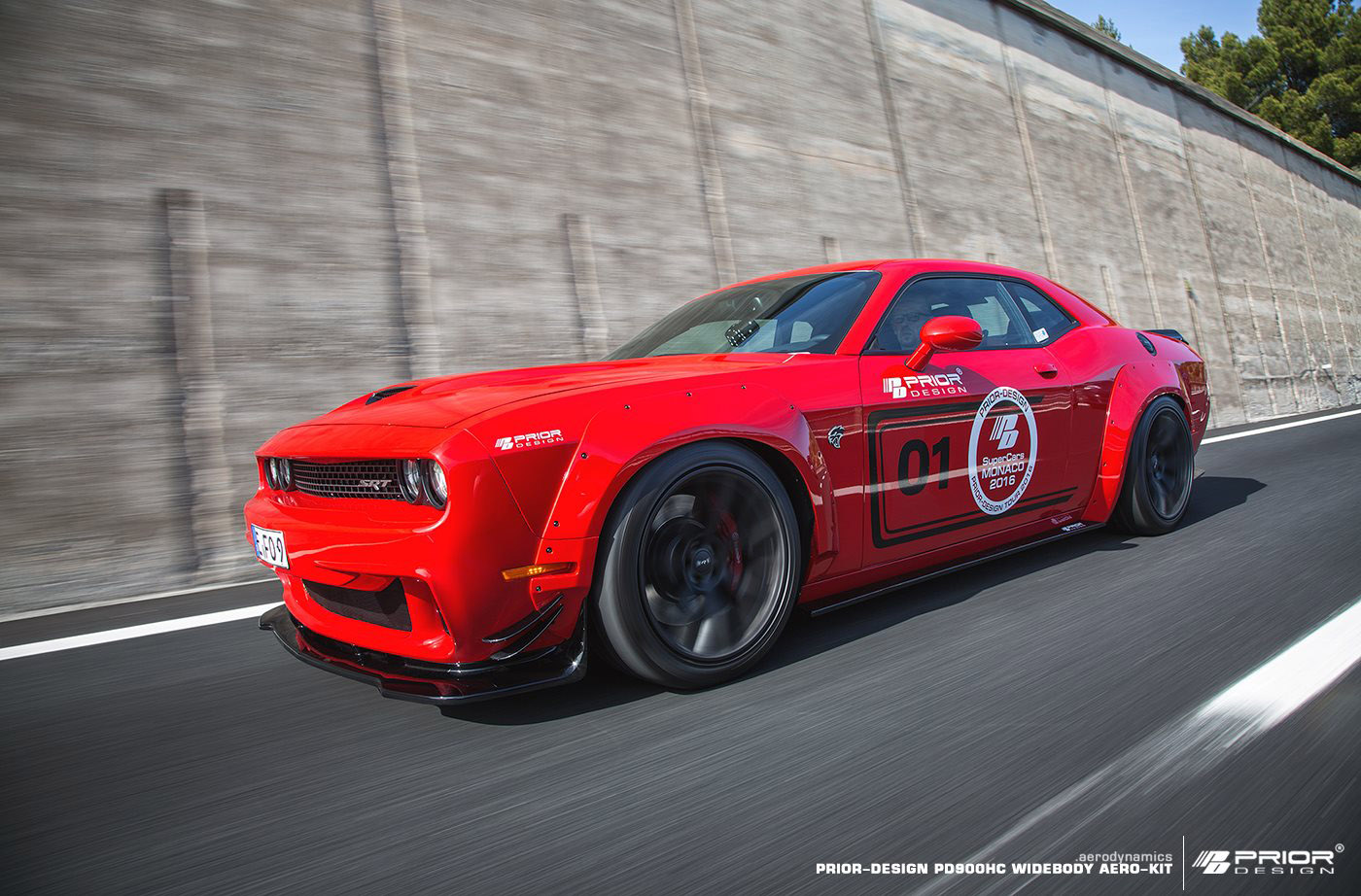 2016 Dodge Challenger Hellcat >> Prior-Design releases Dodge Challenger Hellcat