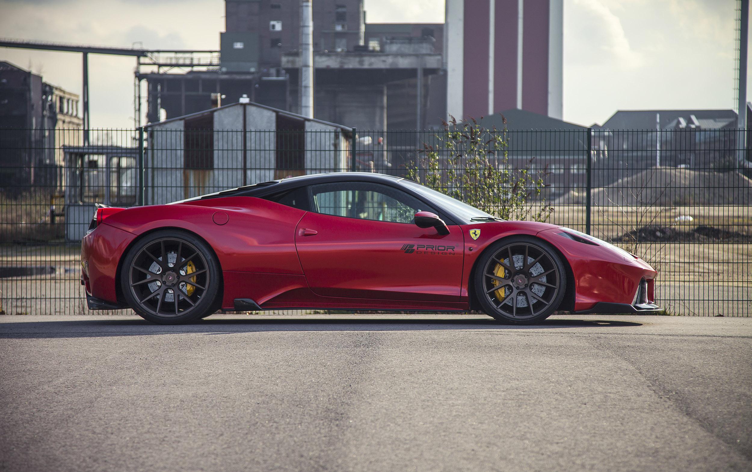 Prior-Design Transforms Ferrari 458 Italia Again!