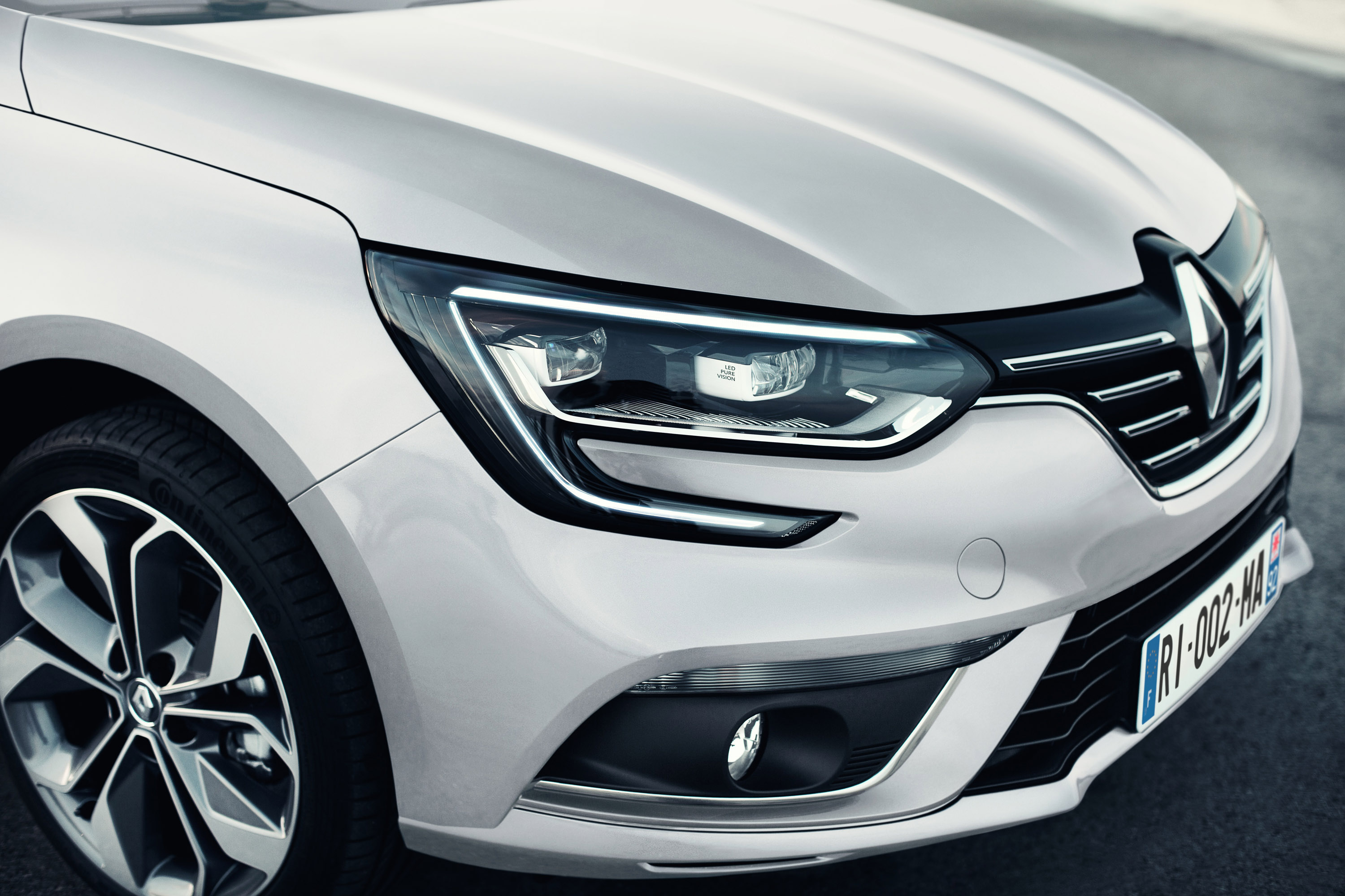renault unveils the megane grand coupe