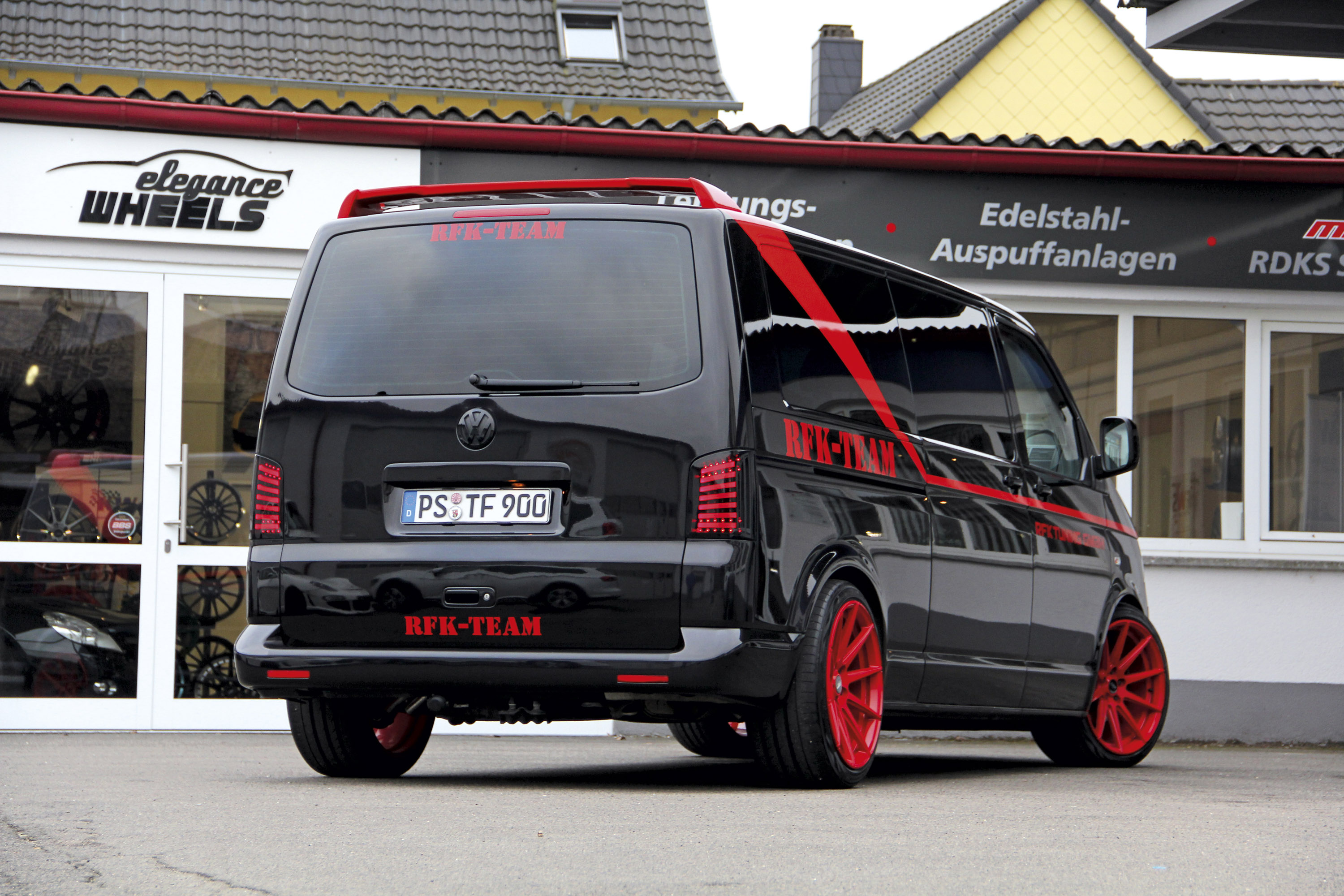 Rfk Tuning Shows A Team Inspired Volkswagen T5 Bus