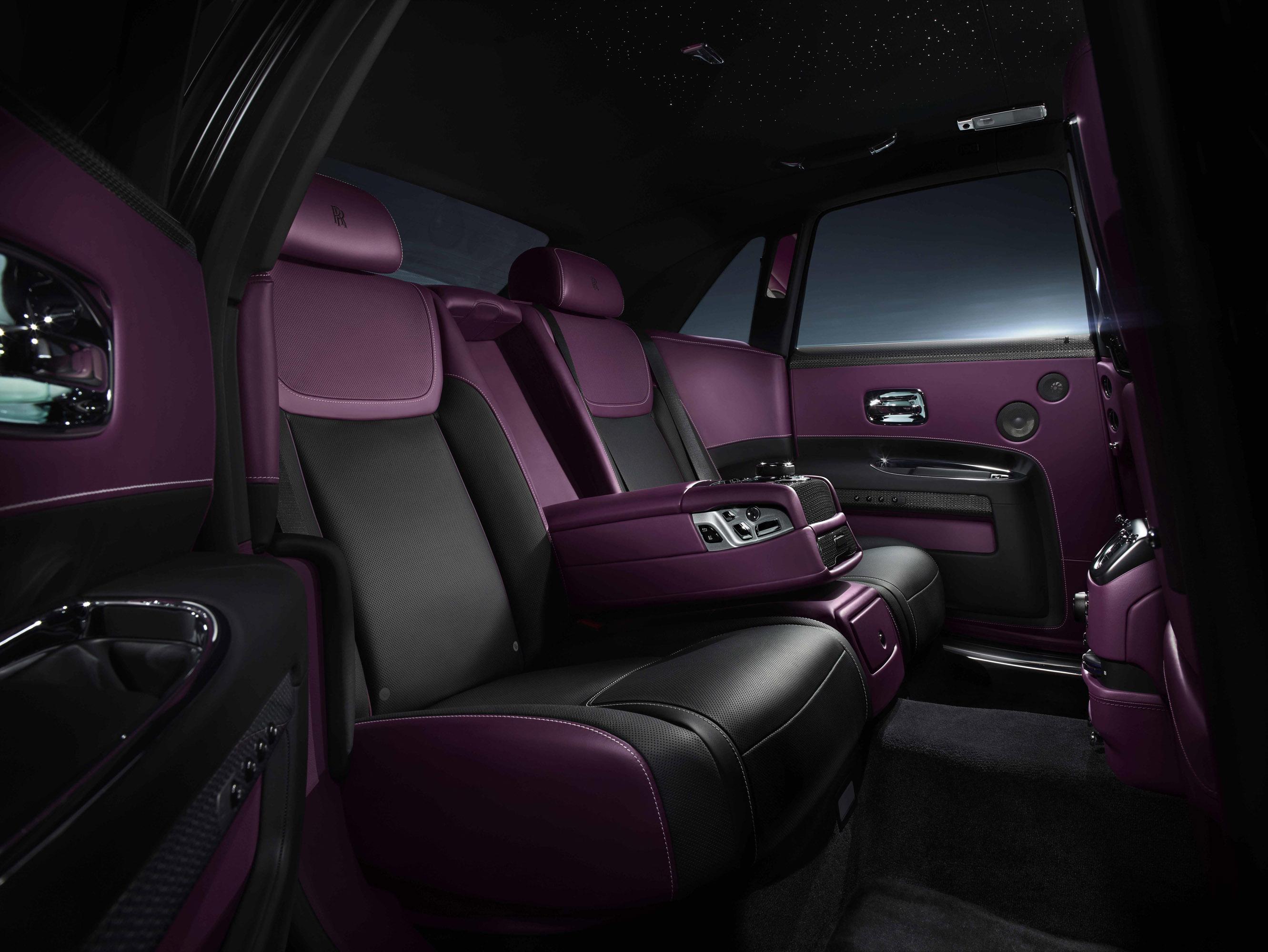 Rolls Royce Reveals Black Badge Edition