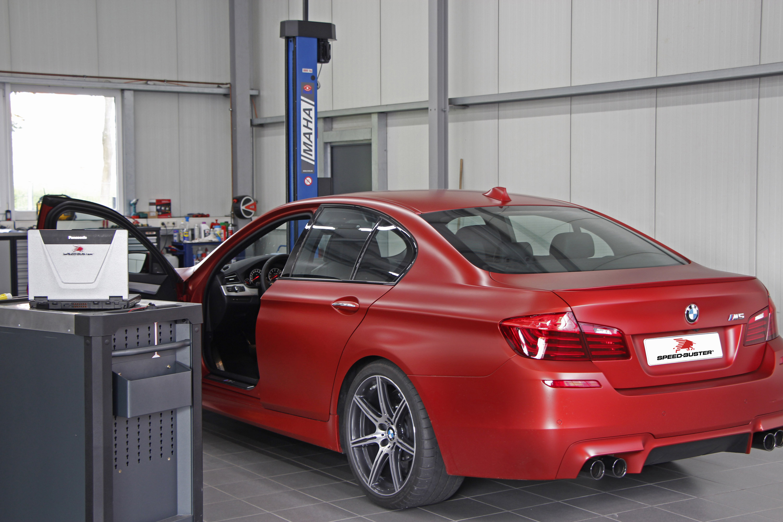 Speed Buster releases power upgrade for BMW M5 F10