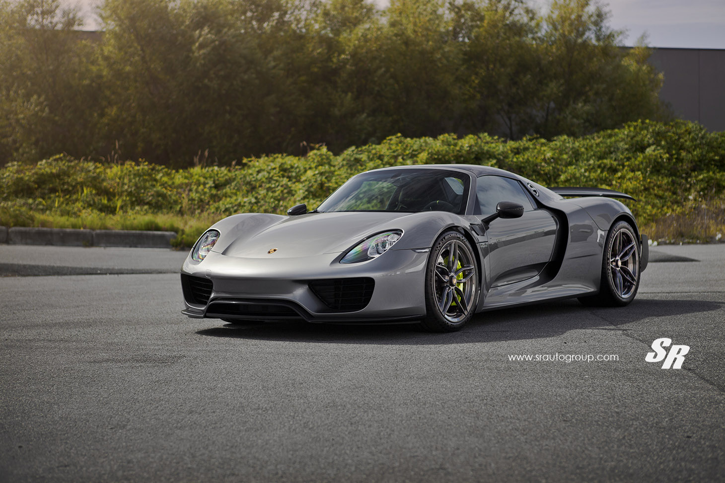 Sr Auto Shows Amazing Porsche 918 Spyder