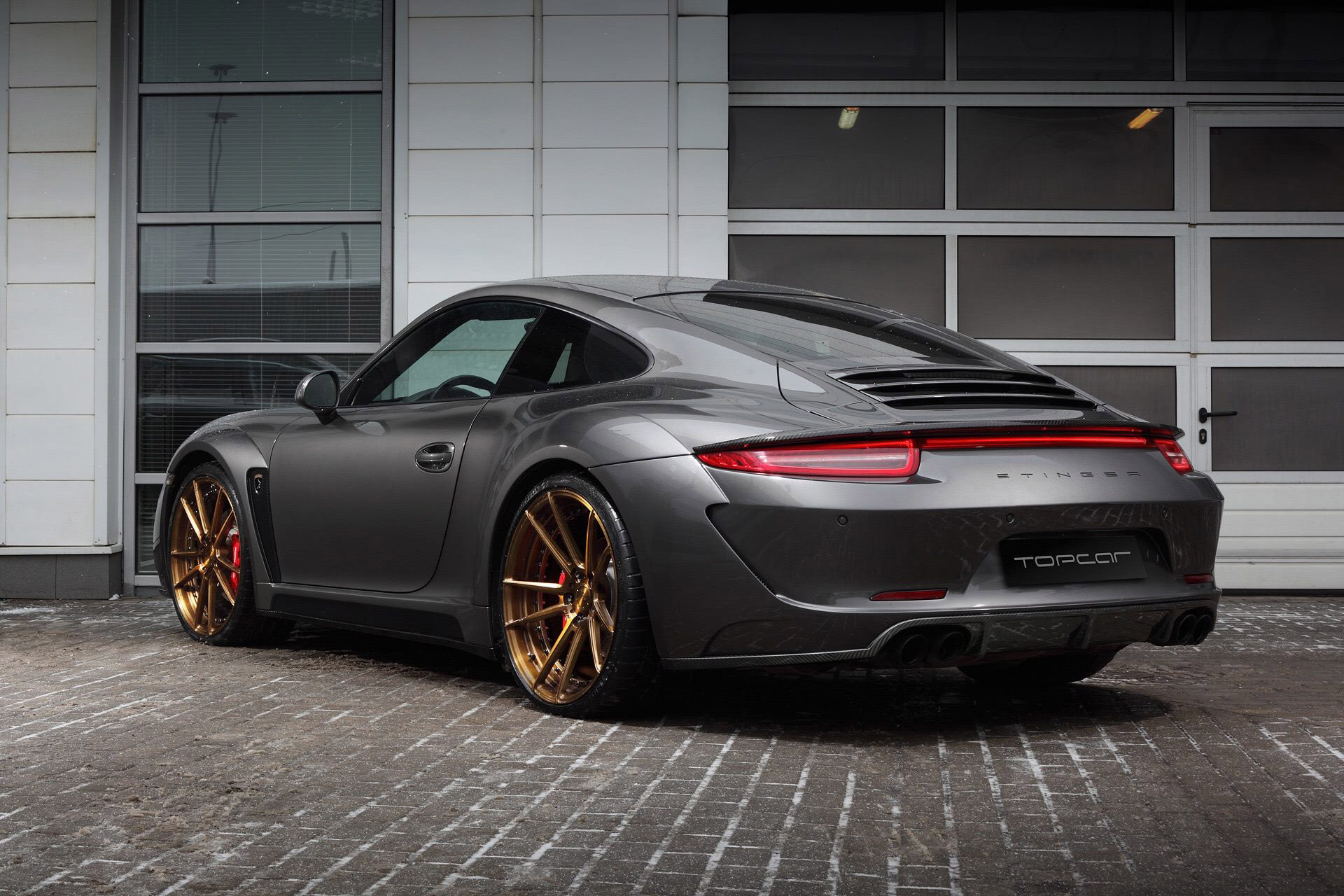 Porsche 991 Carrera 4s With Stinger Body Kit By Topcar