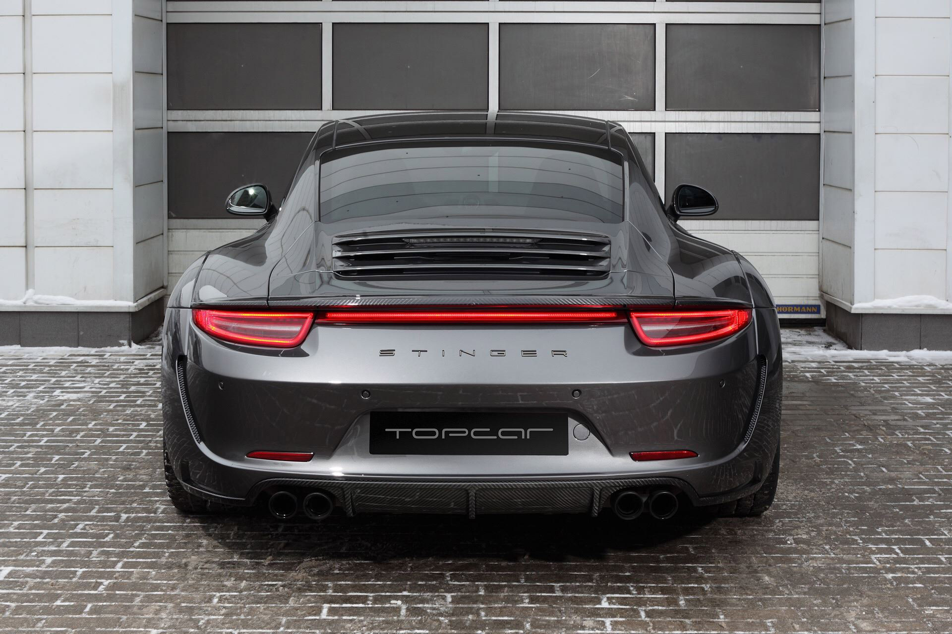 porsche 991 carrera 4s with stinger body kit by topcar. Black Bedroom Furniture Sets. Home Design Ideas