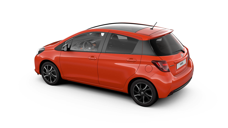 Toyota reveals the Yaris Orange Edition